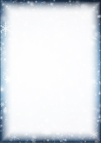 weihnachtsbriefpapier eisblumen umrandung a4. Black Bedroom Furniture Sets. Home Design Ideas