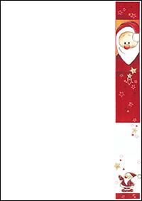 weihnachtsbriefpapier nikolaus a4 weihnachtskarten. Black Bedroom Furniture Sets. Home Design Ideas