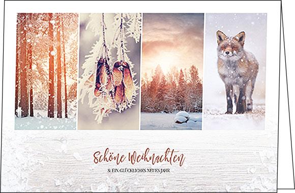 weihnachtskarten natur weihnachten. Black Bedroom Furniture Sets. Home Design Ideas