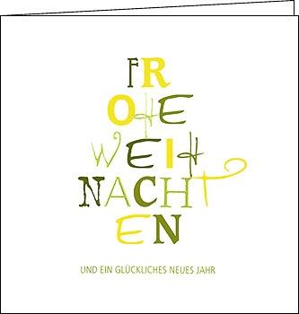 weihnachtskarten text tannenbaum 150 x150 mit couvert. Black Bedroom Furniture Sets. Home Design Ideas