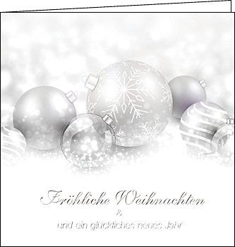 weihnachtskarten edle silber weihnachten 150 x 150 mit. Black Bedroom Furniture Sets. Home Design Ideas