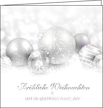 Edle Weihnachtskarten.Weihnachtskarten Edle Silber Weihnachten 150 X 150 Mit